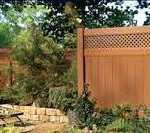 Wood Privacy Fence with Topper in Great Falls, VA