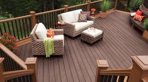Composite Deck at Great Falls, VA Home