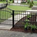 Leesburg, VA Fence Company Installed Aluminum Fence