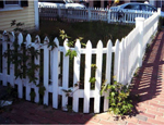 White Picket Fence in Leesburg, VA
