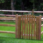 Split Rail Wood Fence Installed by Fence Company in Leesburg, VA